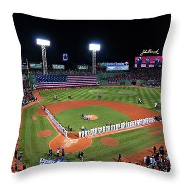 Fenway Park World Series 2013 Throw Pillow