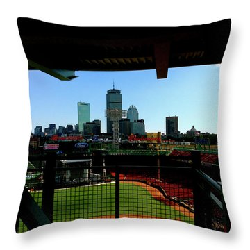Fenway Park, Xi  Throw Pillow