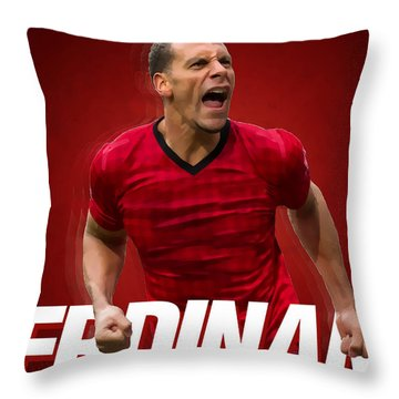 Ferdinand Throw Pillow by Semih Yurdabak
