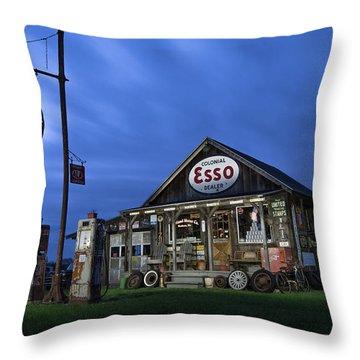 Ferland Motor Company Throw Pillow