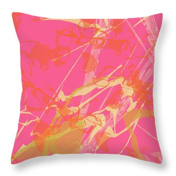 Fern Palette Painting #1 Throw Pillow