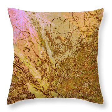 Fern Series 32 Bubbles Rise Throw Pillow