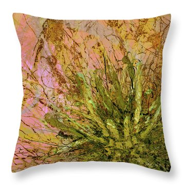 Fern Series 32 Fern Burst Throw Pillow