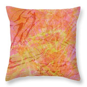 Fern Series #42 Throw Pillow