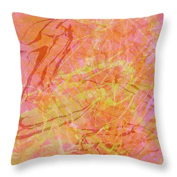 Fern Series #42 Throw Pillow