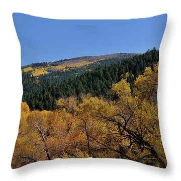 Throw Pillow featuring the photograph Fernando Peak by Ron Cline