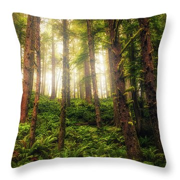 Ferngully Throw Pillow