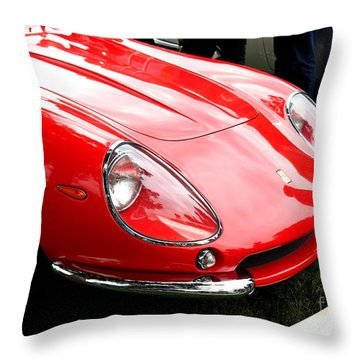 Ferrari 1 Throw Pillow
