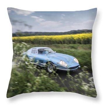 Ferrari 275 Throw Pillow