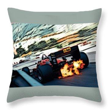 Ferrari 156/85 V6 Throw Pillow