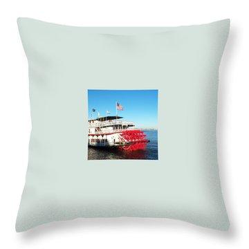 Ferry Throw Pillow