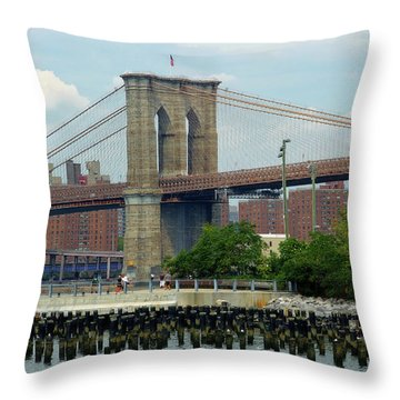Ferry Hopping Throw Pillow