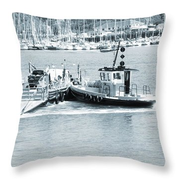 Ferry Throw Pillow