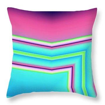 Fertile Throw Pillow by Ron Bissett