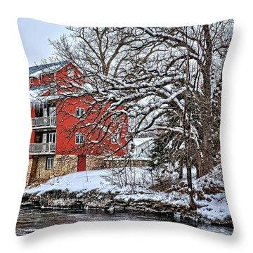 Fertile Winter Throw Pillow