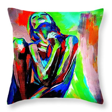 Fervidly Throw Pillow