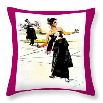 Festival Celebration Throw Pillow