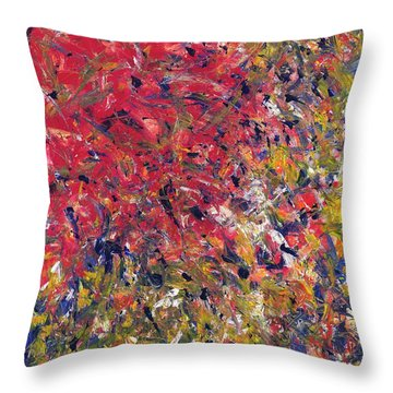 Festival Of Life Throw Pillow