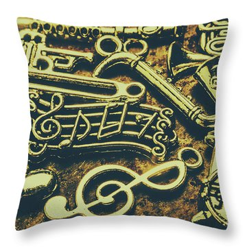 Festival Of Song Throw Pillow