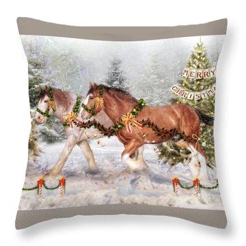 Festive Fun Throw Pillow