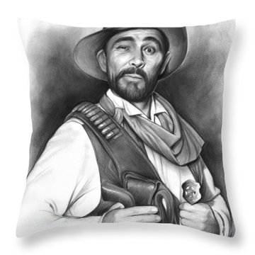 Festus Haggen Throw Pillow