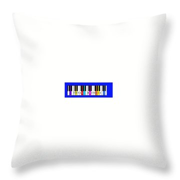 Fetal Records Logo Throw Pillow