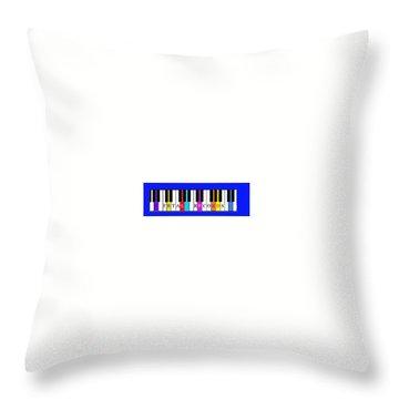 Fetal Records Logo Throw Pillow