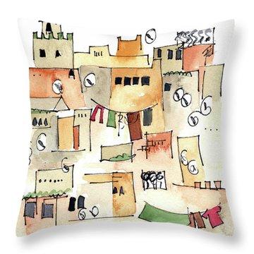 Fez Medina 2017 Throw Pillow