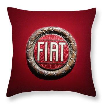 Fiat Emblem -1621c Throw Pillow