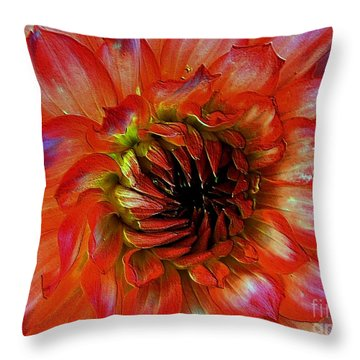 Throw Pillow featuring the photograph Fickle by Elfriede Fulda
