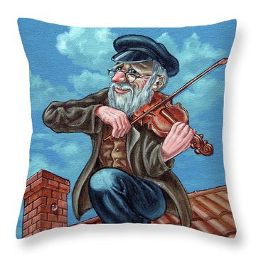 Fiddler On The Roof. Op2608 Throw Pillow