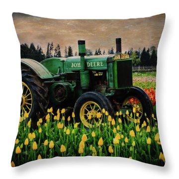 Field Master Throw Pillow