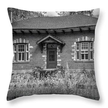 Field Telegraph Station Throw Pillow