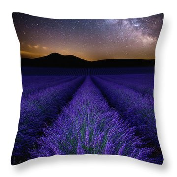 Fields Of Eden Throw Pillow