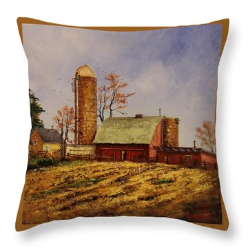 Fields Ready For Fall Throw Pillow