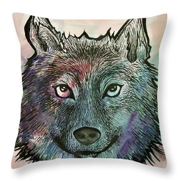 Fierce And Wise Throw Pillow