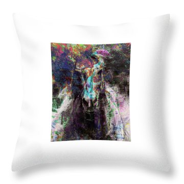 Fiercely Facing The World Throw Pillow