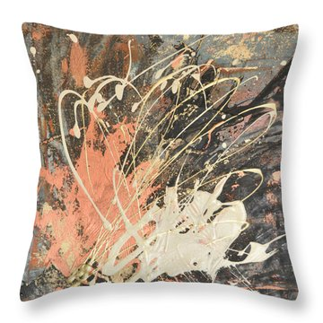 Fiesta 3 Throw Pillow