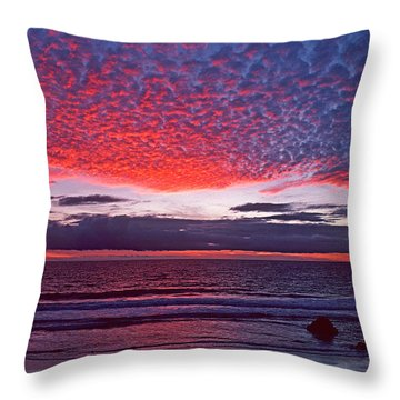 Fiesta In The Sky Throw Pillow