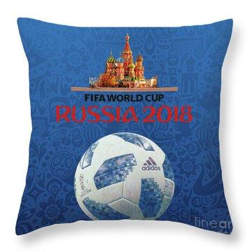 Fifa 2018 Russia  Throw Pillow