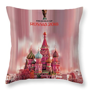 Fifa World Cup 2018 Russia  Throw Pillow