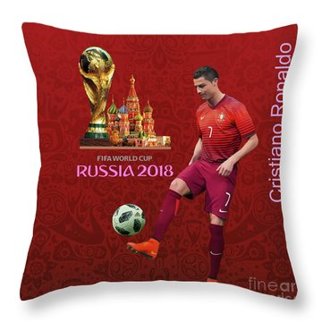 Fifa World Cup Russia 1 Throw Pillow