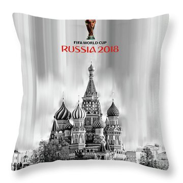 Fifa World Cup Russia 2018 Throw Pillow