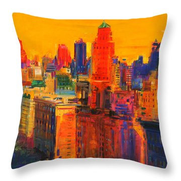 Fifth And Madison Throw Pillow
