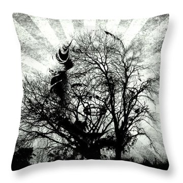 Fifty Cents For Your Soul Throw Pillow