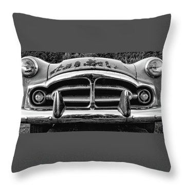 Fifty-one Packard Throw Pillow
