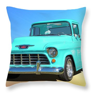 Fifty5 Stepside Pickup Throw Pillow