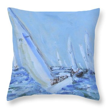Figawi Frenzy Throw Pillow