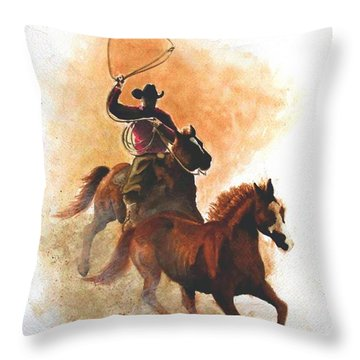 Fighting For Freedom Throw Pillow