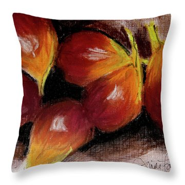 Figs Throw Pillow by Linde Townsend